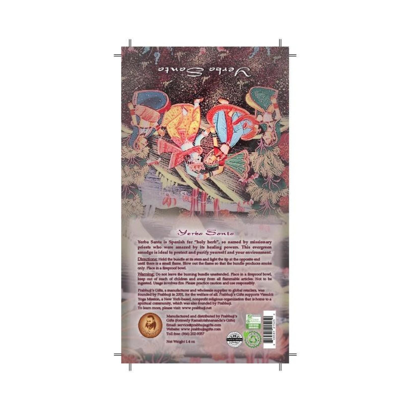 Prabhujis Gifts Yerba Santa Smudge Stick - 2 Mini bundles