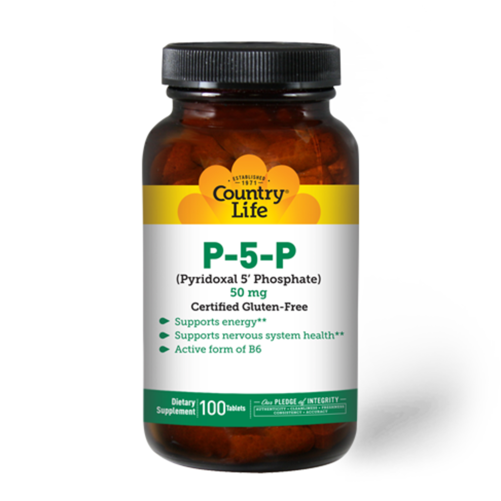 Country Life Country Life P5P 50mg 100ct
