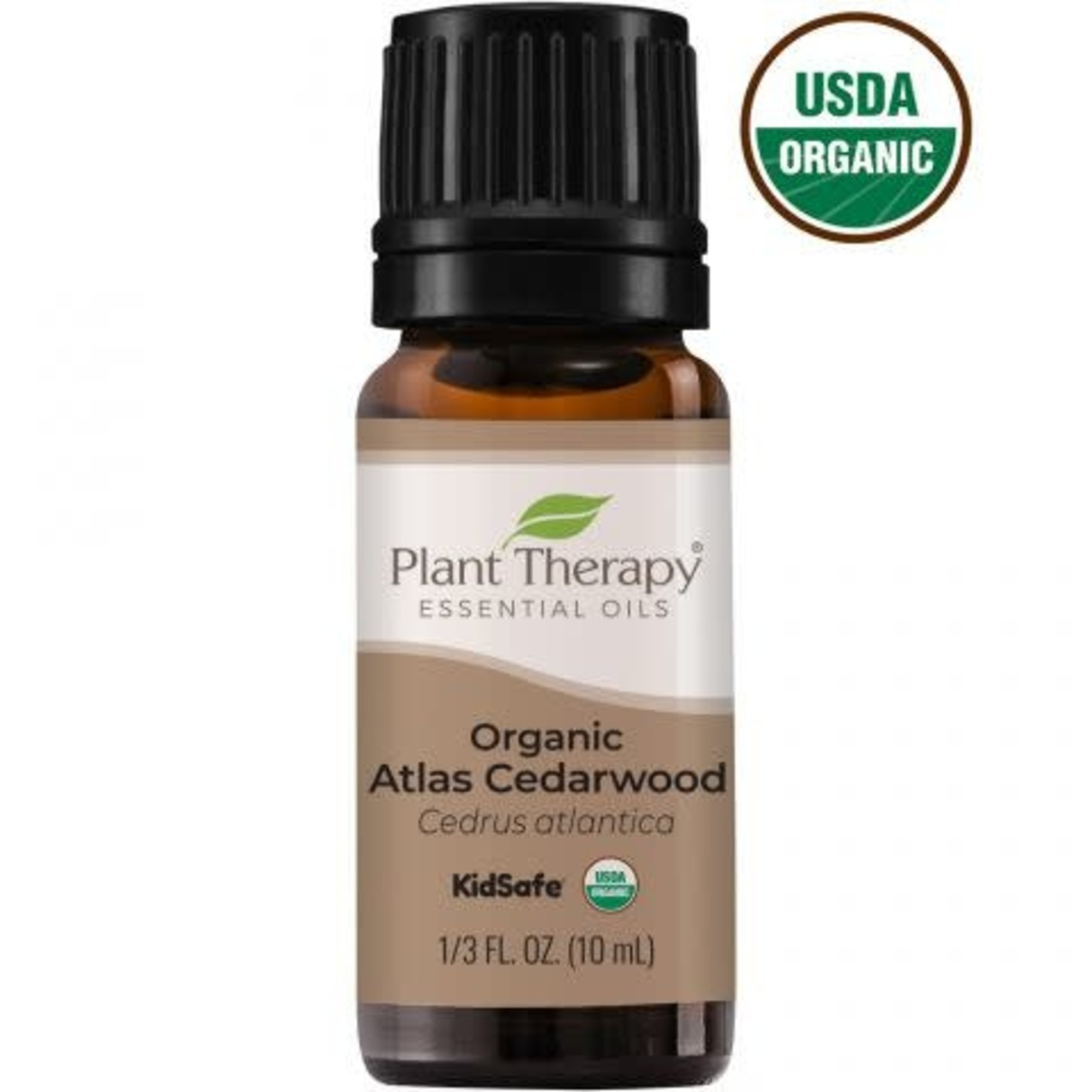 Plant Therapy PT Organic Atlas Cedarwood Essential Oil 10ml