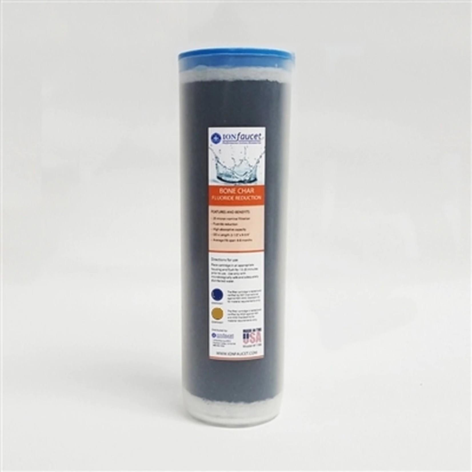 Ionfaucet IonFaucet Bone Char Fluoride Reduction Cartridge Filter