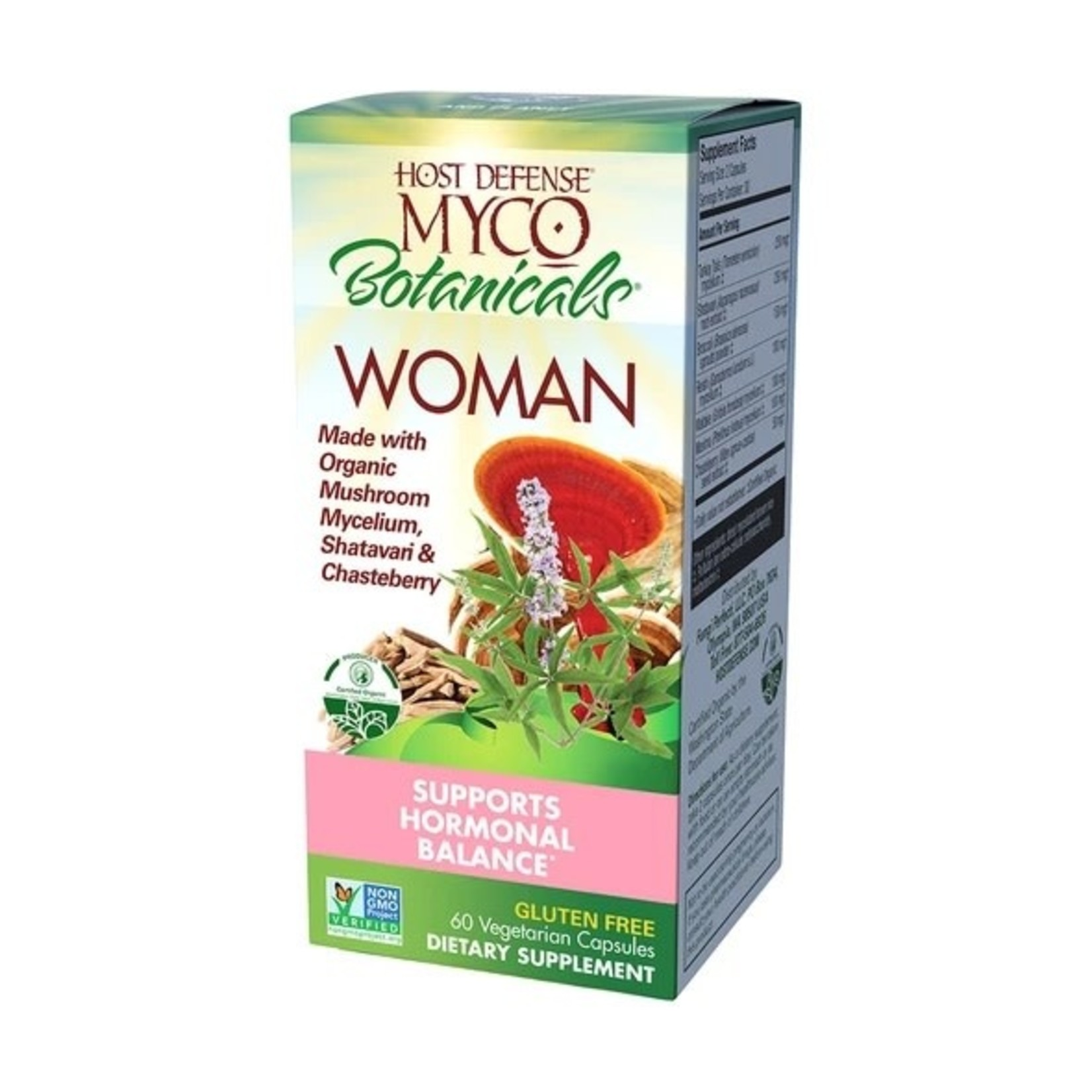 Host Defense HD Myco Botanicals WOMAN 60 capsules