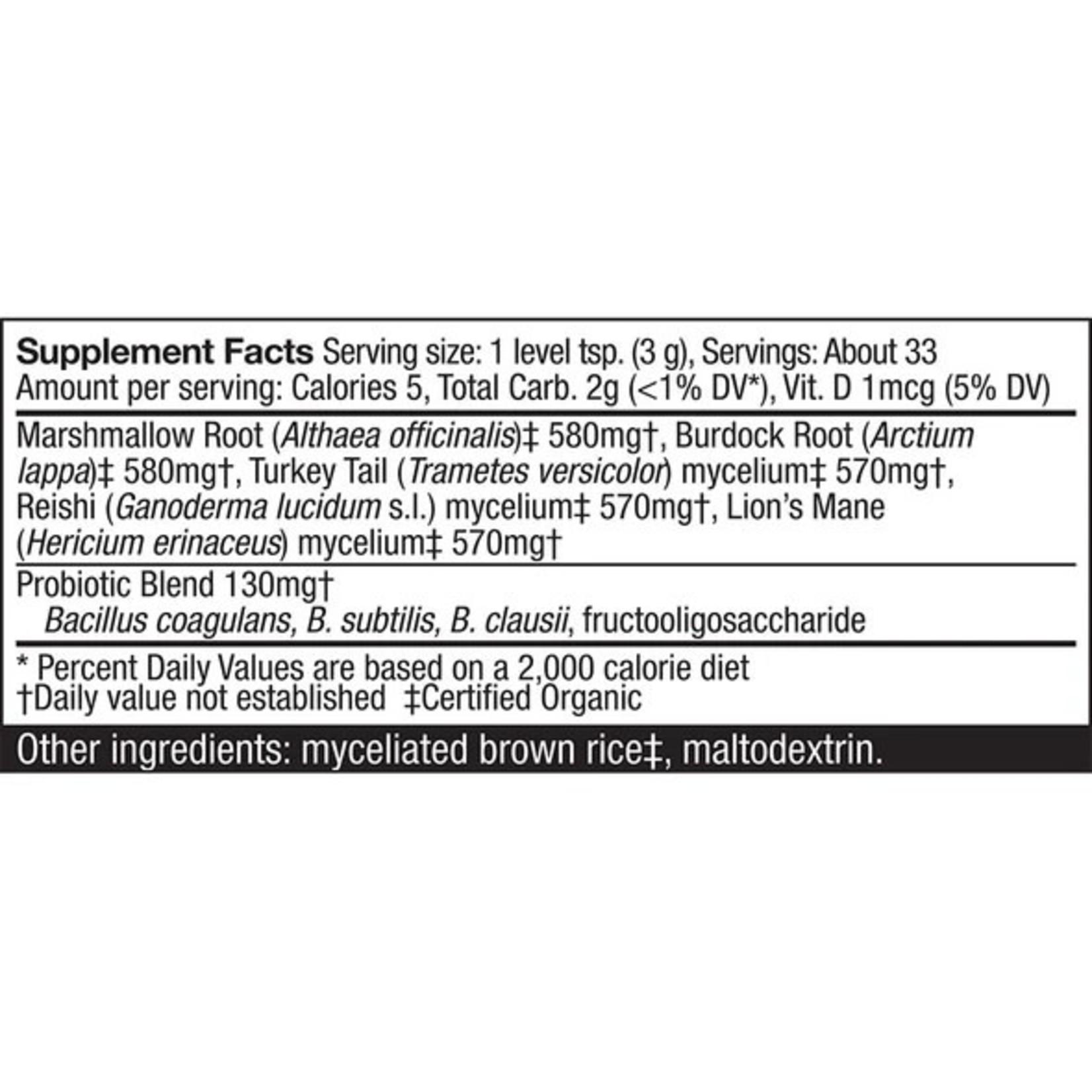 Host Defense HD Microbiome Pre + Probiotic Formula 3.5oz