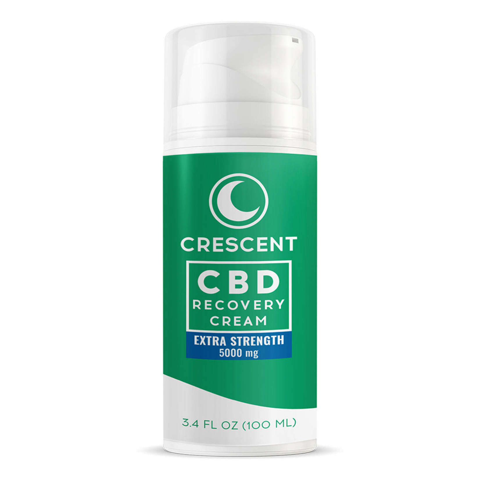 Crescent Canna CBD Topical Pain Recovery Creme 5000mg 3.4oz pump