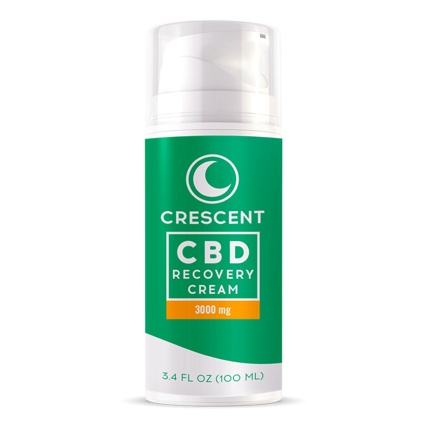 Crescent Canna CBD Topical Pain Recovery Creme 3000mg 3.4oz pump