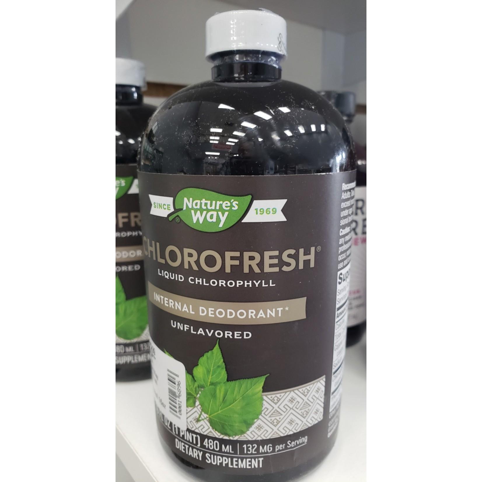 Natures Way Natures Way Chlorofresh Liquid Chlorophyll 16oz