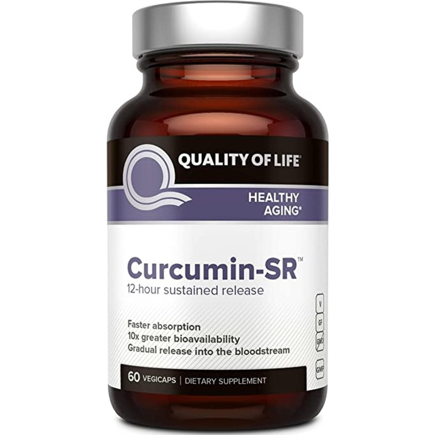 Quality of Life QOL Curcumin-SR 12 hour Sustained Release