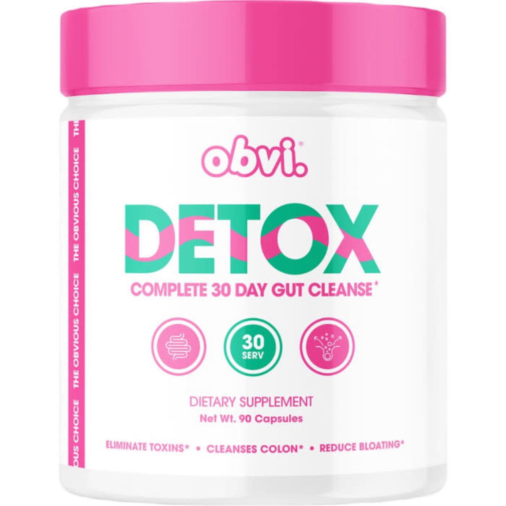 Obvi Obvi Detox Complete 30 Gut Cleanse 90 capsules