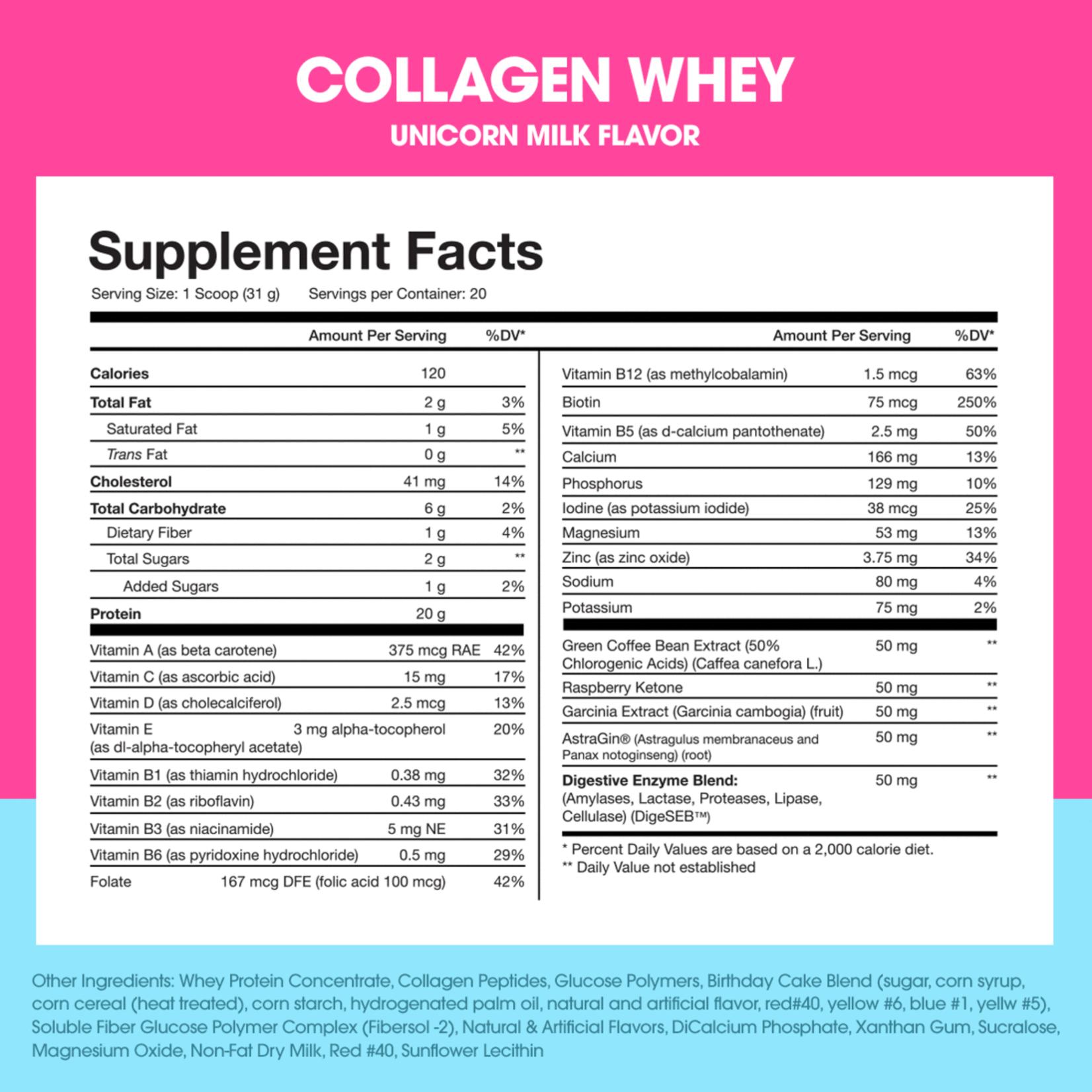 Obvi Obvi Collagen Whey Protein 20 Servings