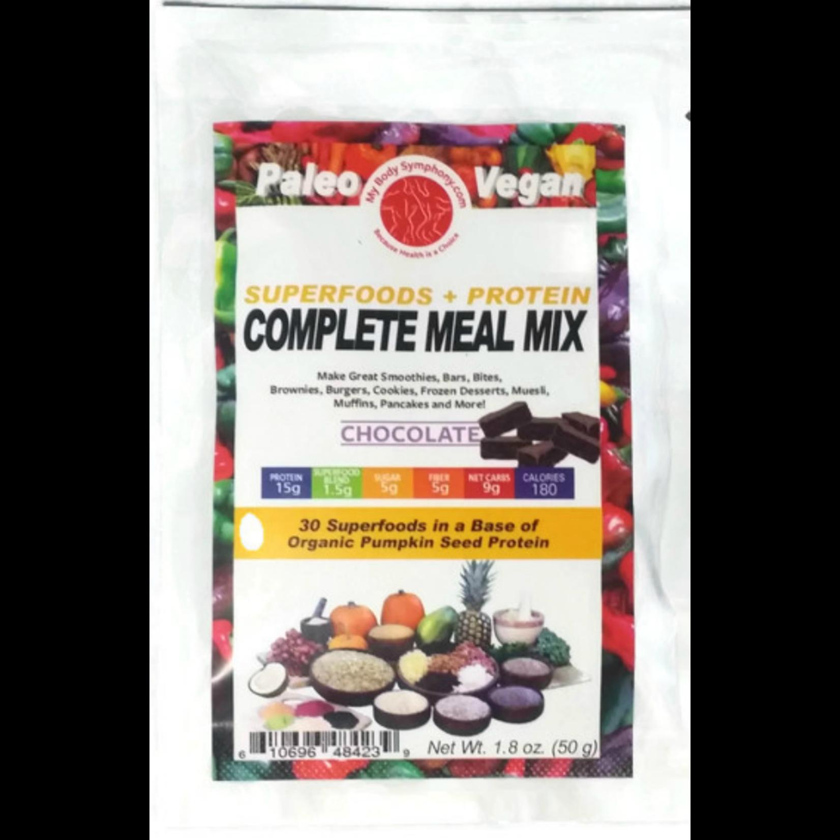 Body Symphony Complete Meal Mix Sampler Pack 1.8oz