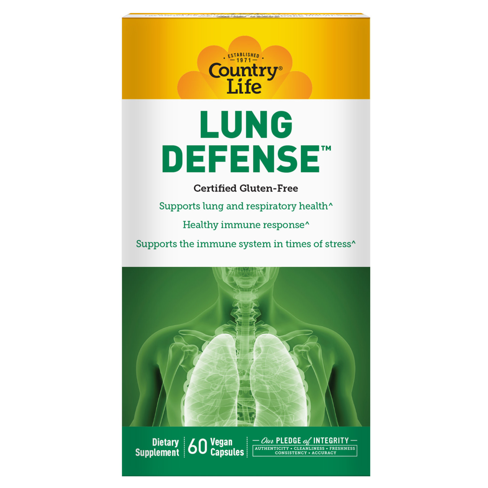Country Life Country Life Lung Defense 60 Vegan Capsules
