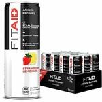 LifeAid LifeAid FitAid Athletic Recovery Strawberry Lemonade 12 oz