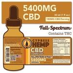 Cypress Hemp Cypress Hemp CBD + Omegas Full Spectrum 5400mg Original