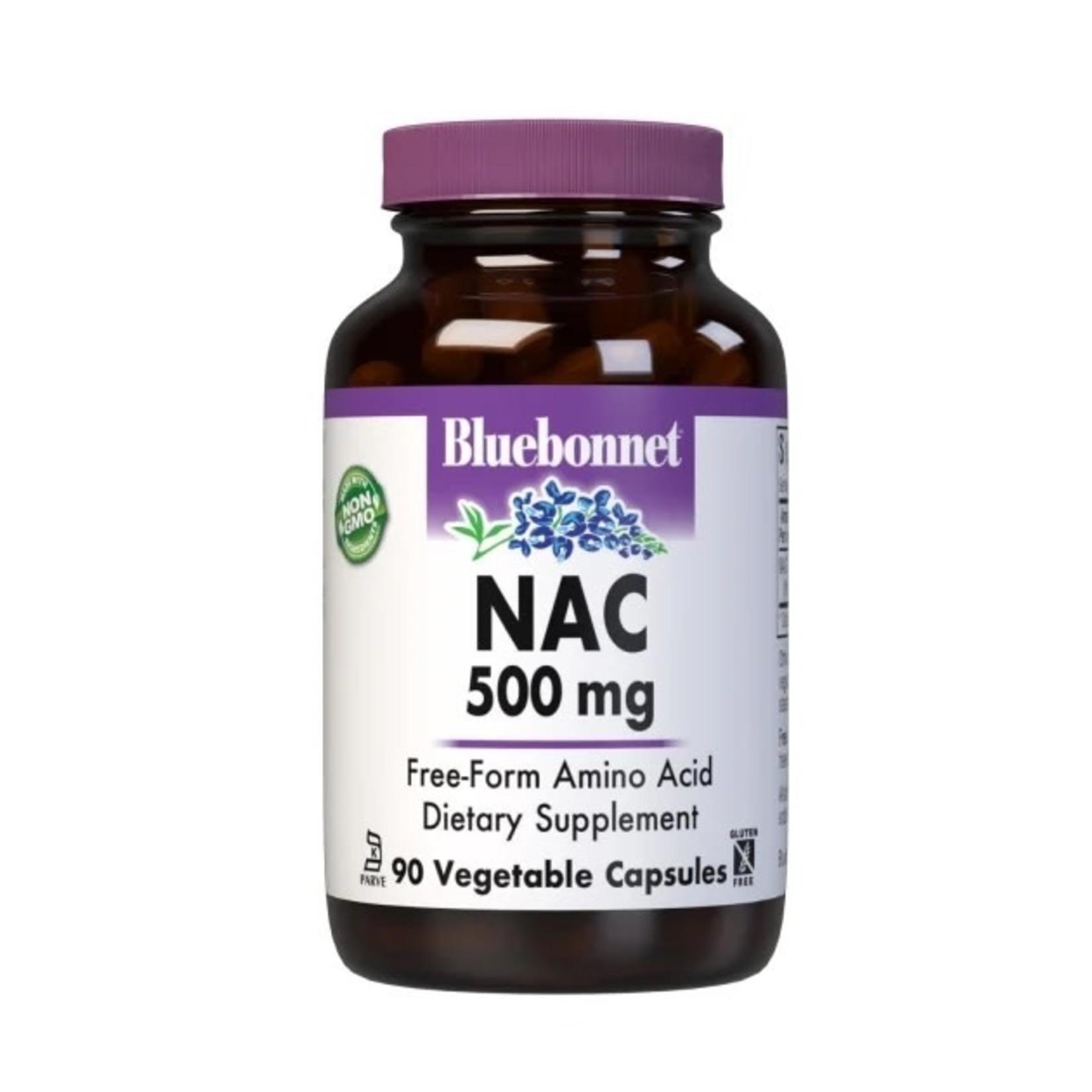 BlueBonnet Bluebonnet NAC 500mg 90 Vegetable Capsules