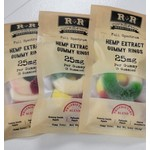 R+R R+R Hemp Extract Gummy Rings 25mg 3ct