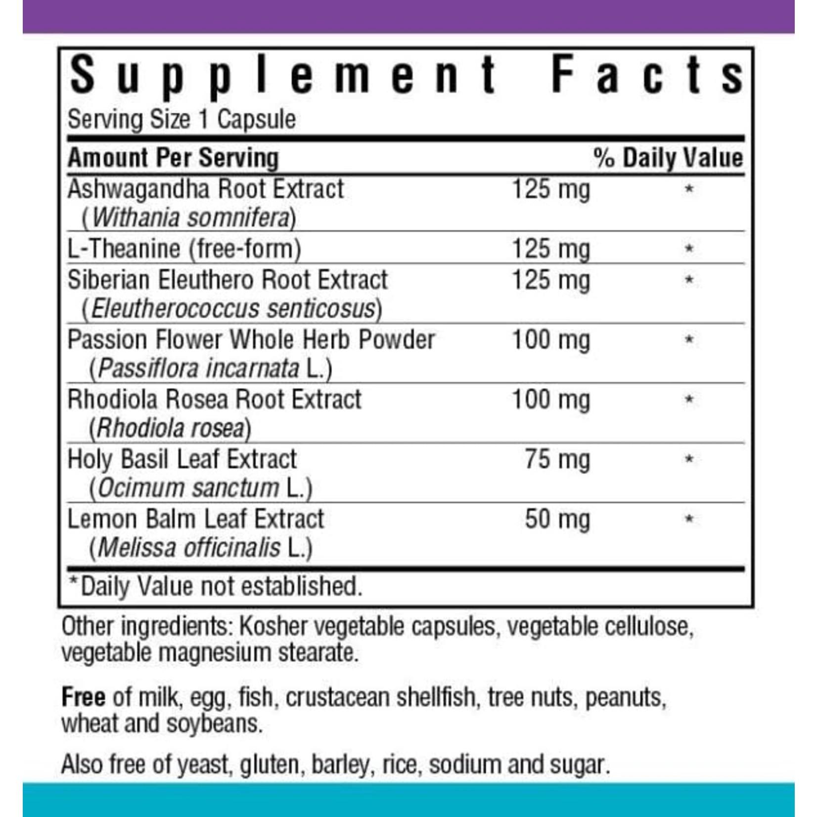 BlueBonnet Bluebonnet Stress Relief 30 Veg capsules