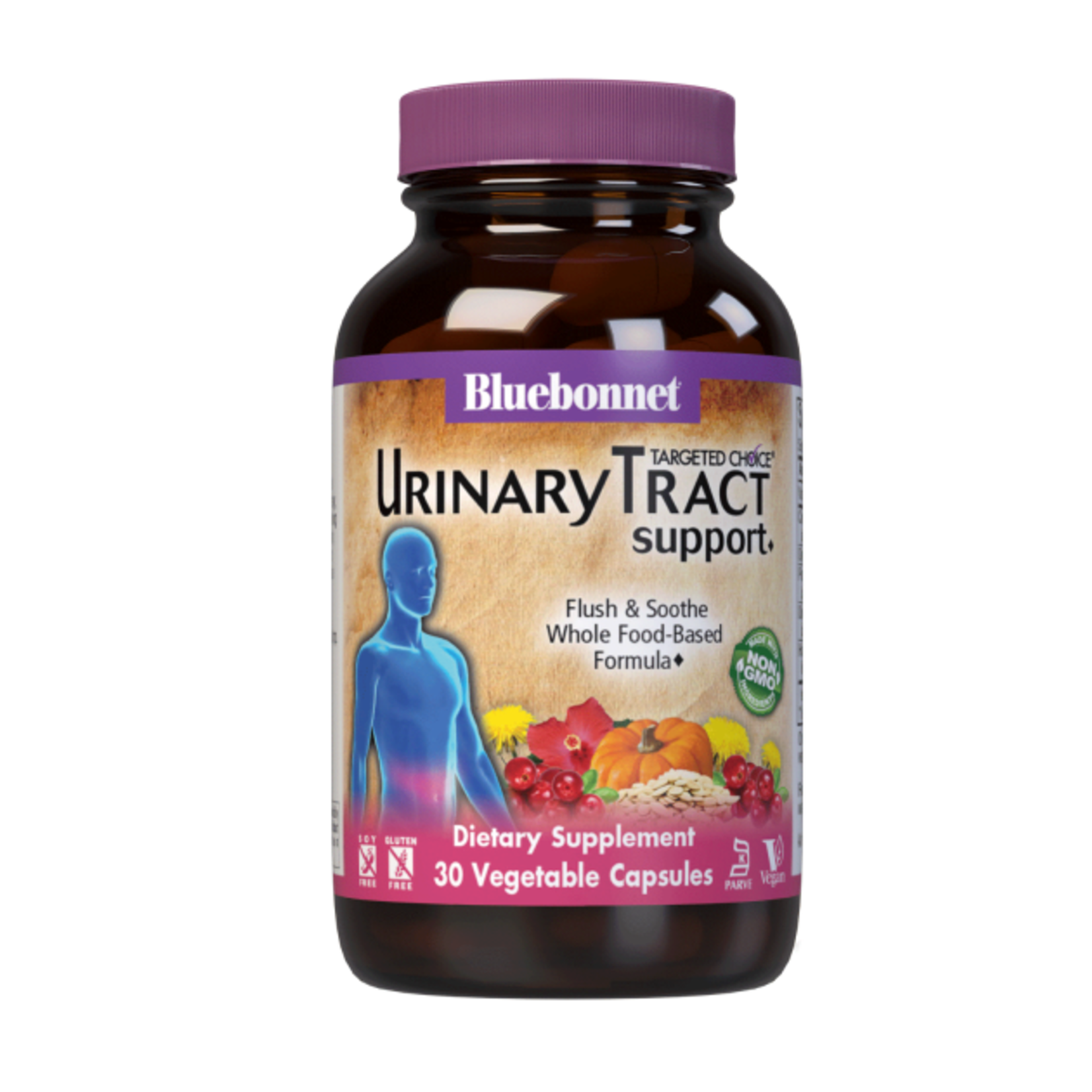 BlueBonnet Urinary Tract Support 30 Veg Capsules