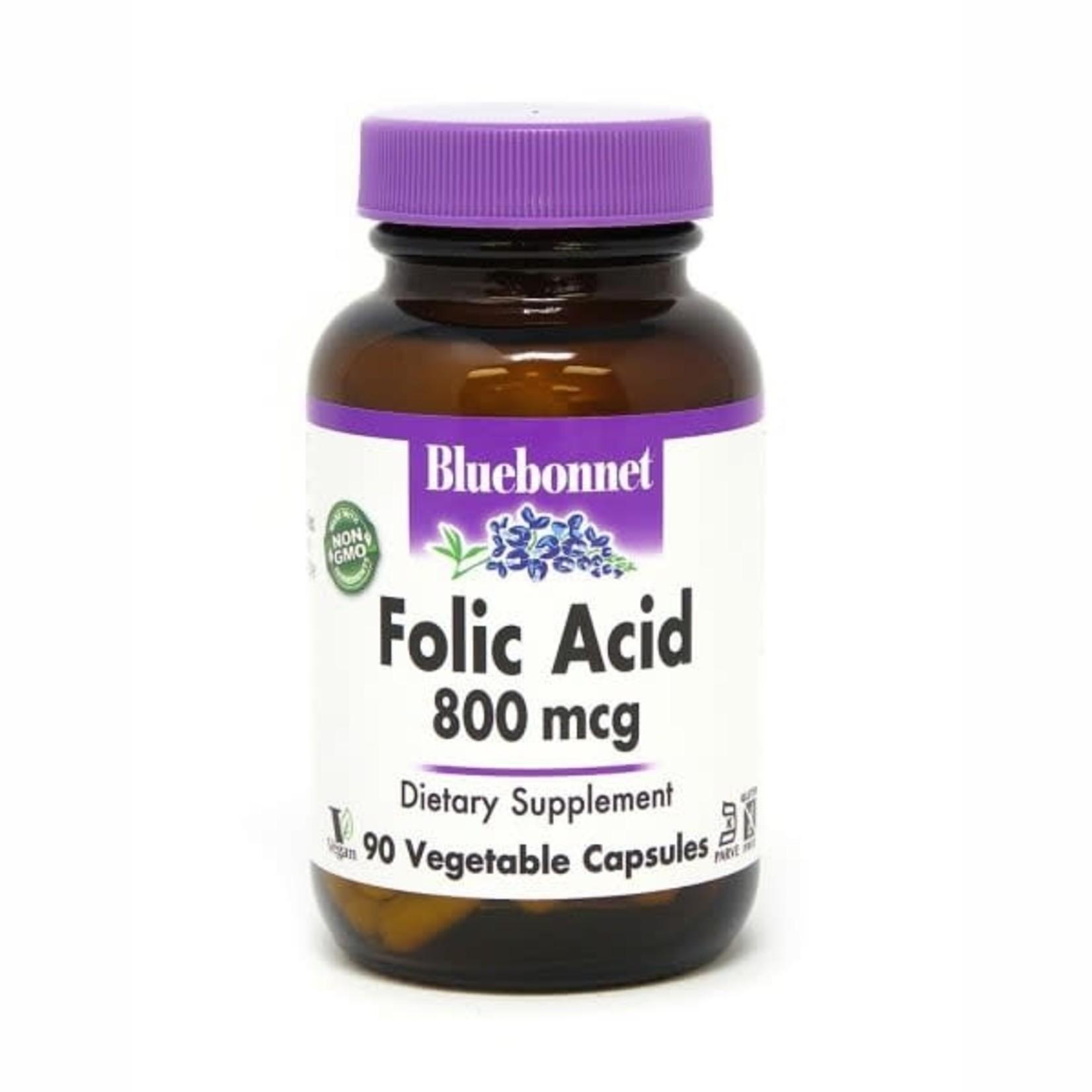BlueBonnet Bluebonnet Folic Acid800mg 90ct