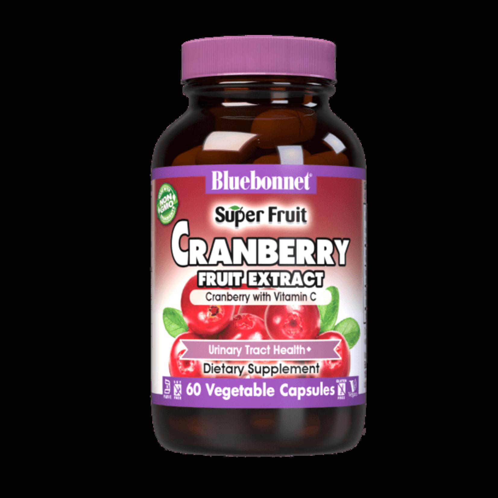 BlueBonnet Bluebonnet Cranberry Fruit Extract w/Vit C 60ct