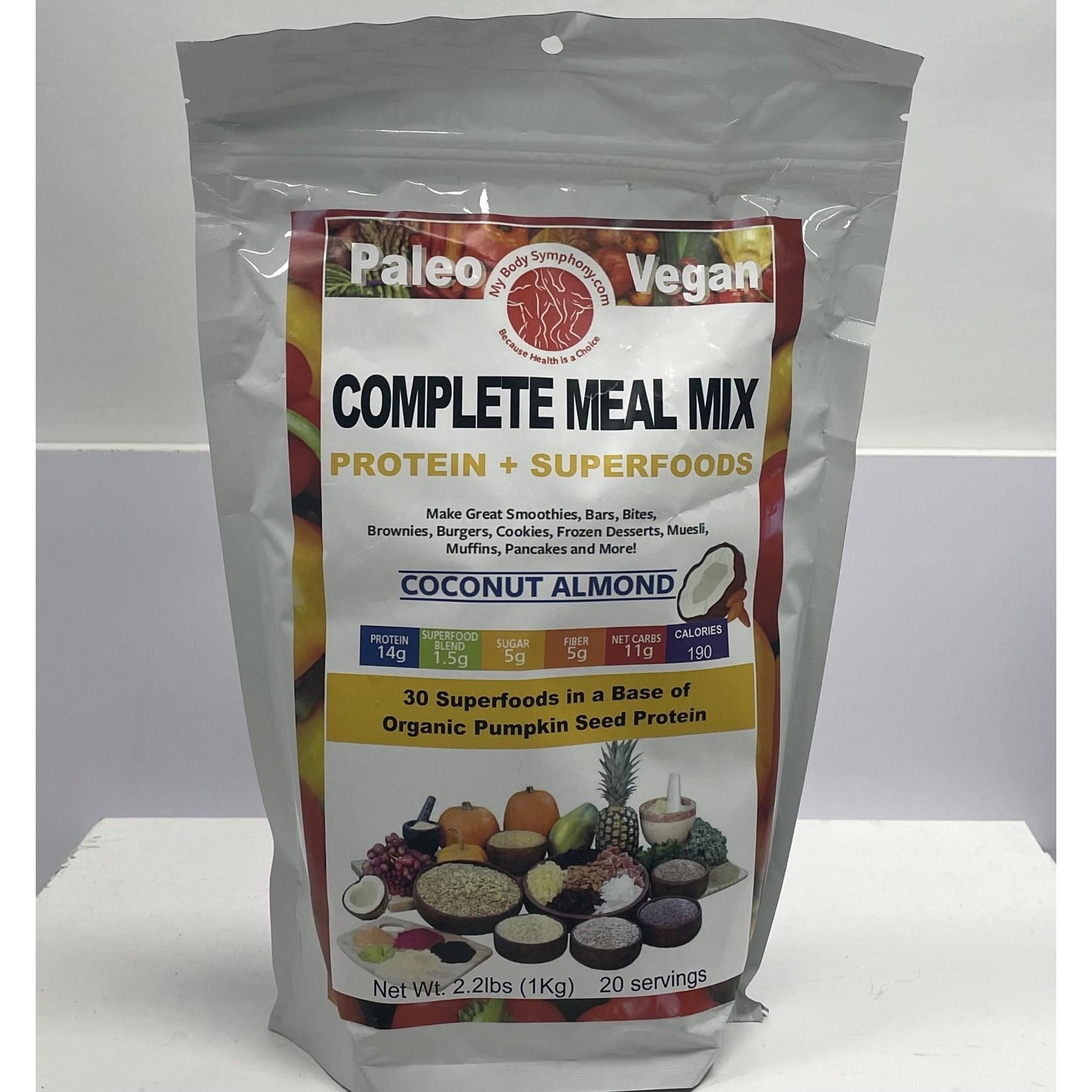 Body Symphony Paleo Vegan Complete Meal Mix