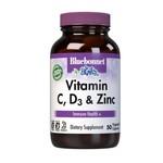 BlueBonnet Bluebonnet Vitamin C, D3, & Zinc