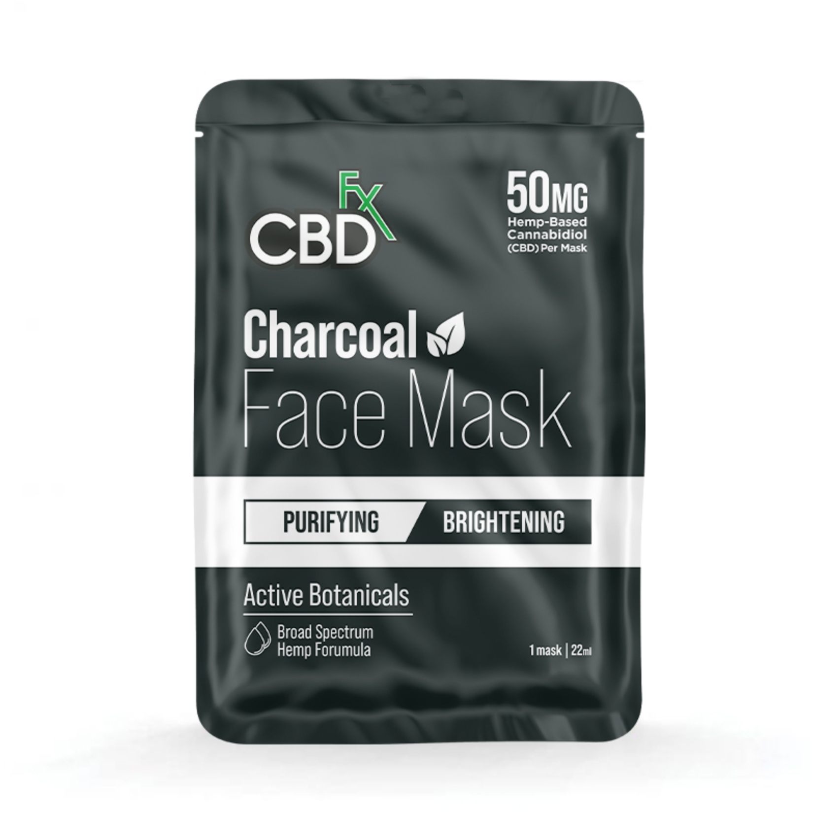 CBDFX CBD Hemp Face Mask 50mg