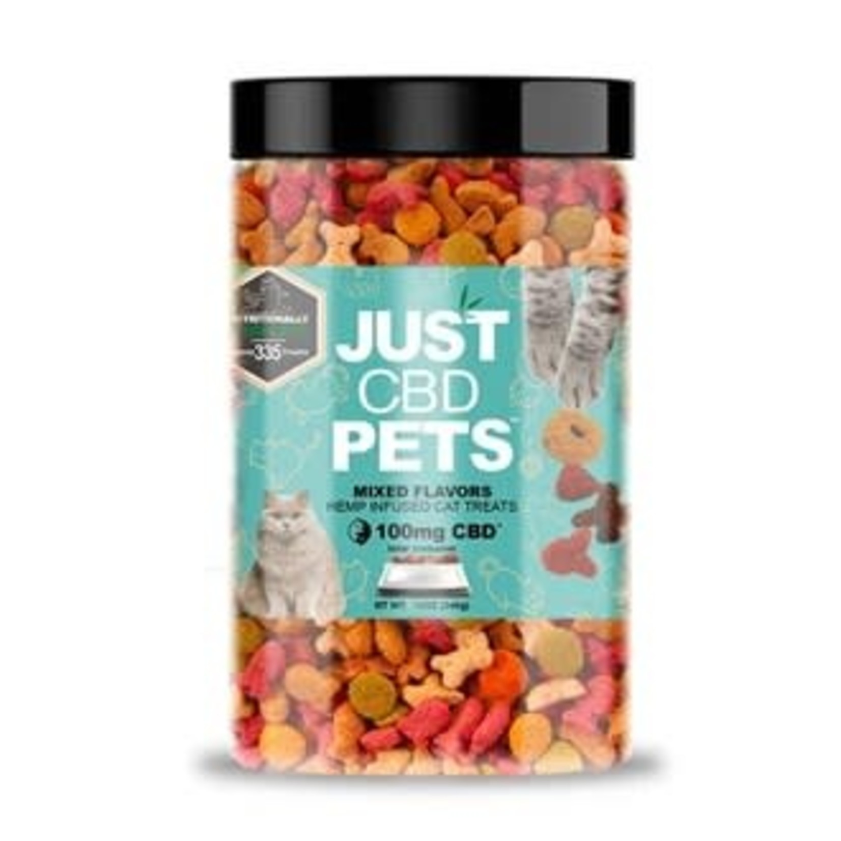 Just CBD Just CBD for Cats / Pets 100mg +300ct