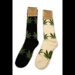 Hemptopia Hemp & Marijuana Leaf Socks