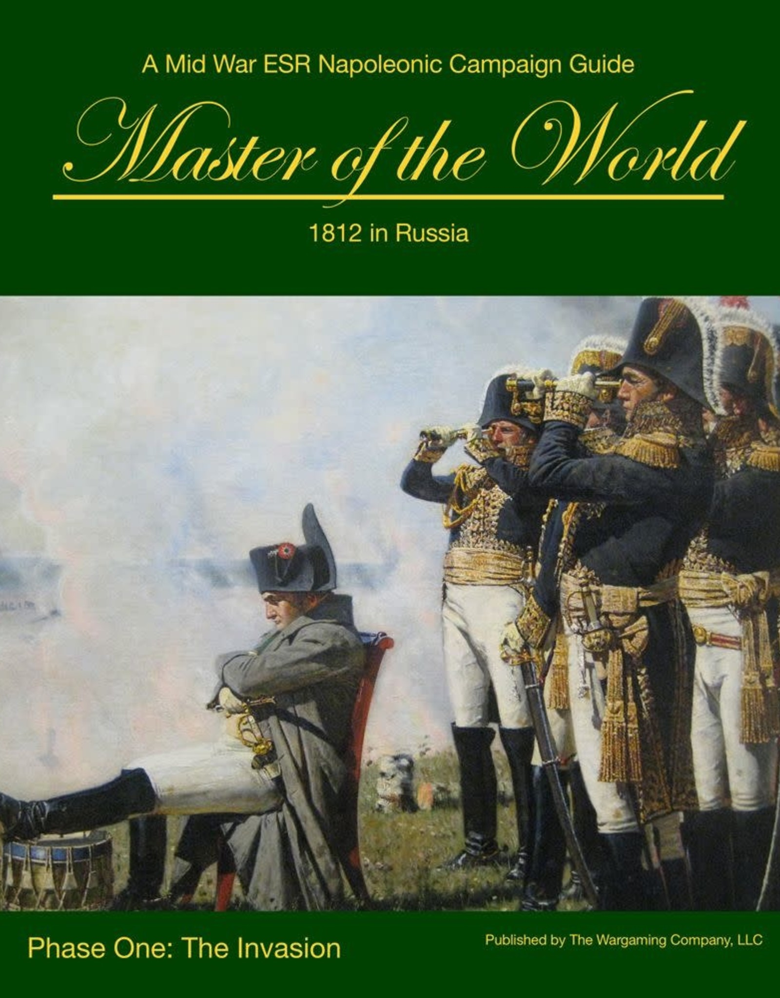 The Wargaming Company Master of the World:  1812 in Russia (The Invasion)