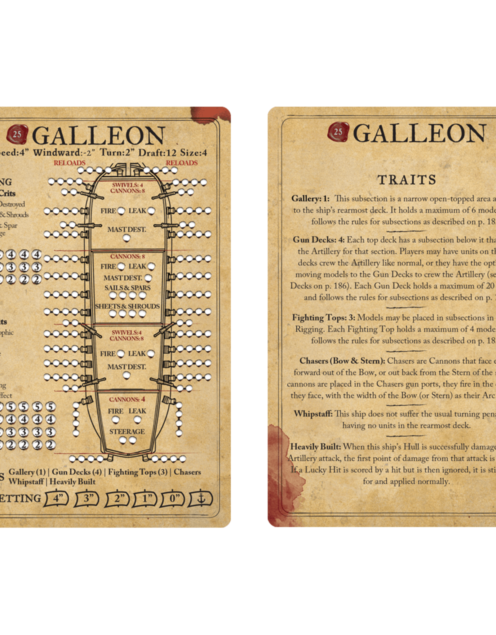 Firelock Games Galleon (Blood & Plunder)