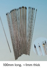 North Star 100mm long wire spears (x20)