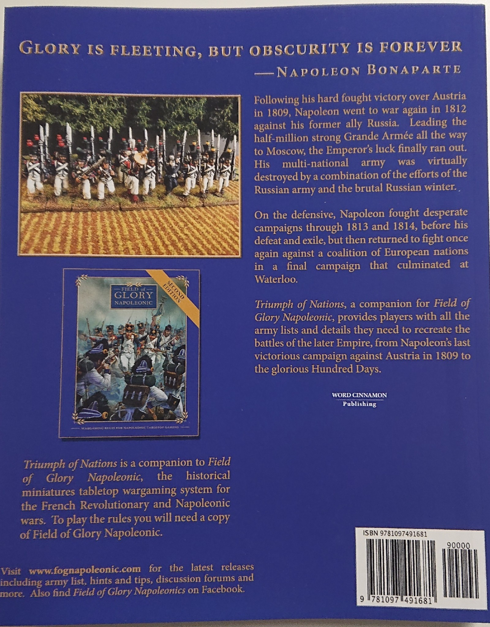 Field of Glory Napoleonic Triumph of Nations (Field of Glory Napoleonic 2nd Ed., Vol.II)
