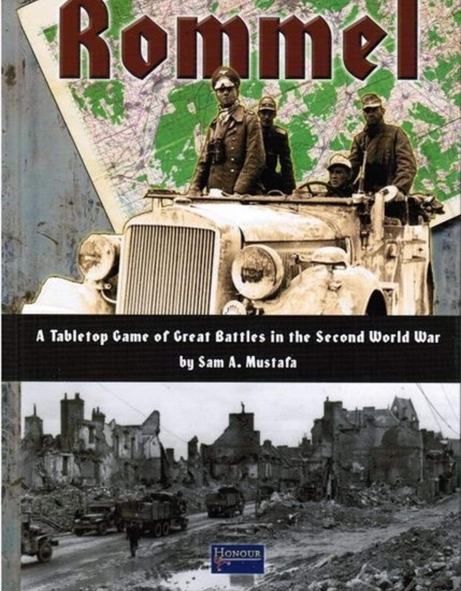 Honour Games (Sam Mustafa) Rommel WW2 rules