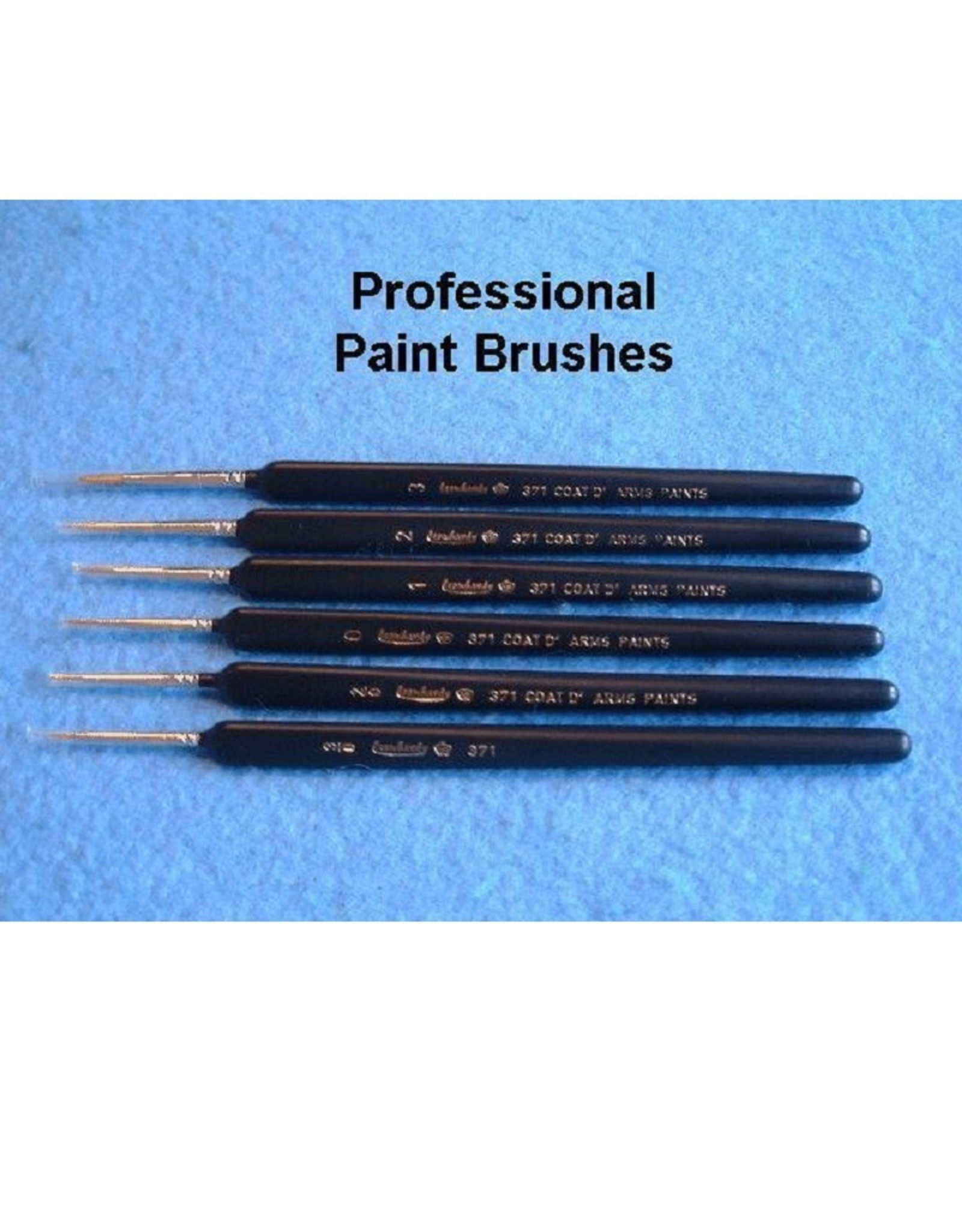 Coat d'Arms Leonhardy Paint Brushes