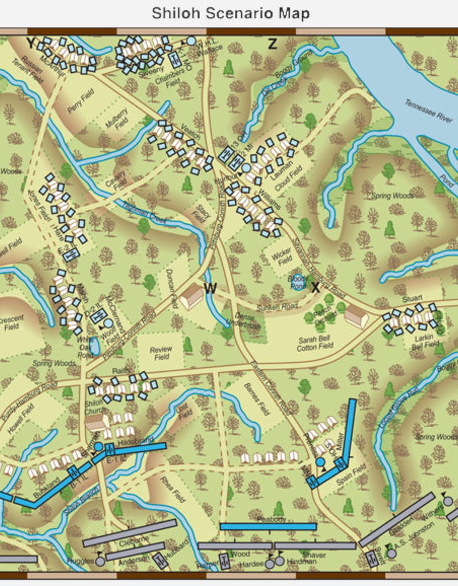 Fire & Fury Games Brigade Fire & Fury Scenarios:  Great Western Battles