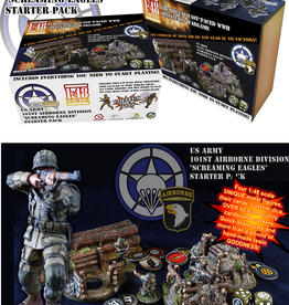 Baueda 1-48 Tactic US Airborne Starter Pack