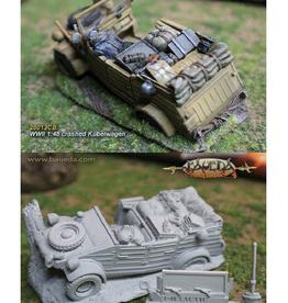 Baueda 1-48 Crashed Kübelwagen