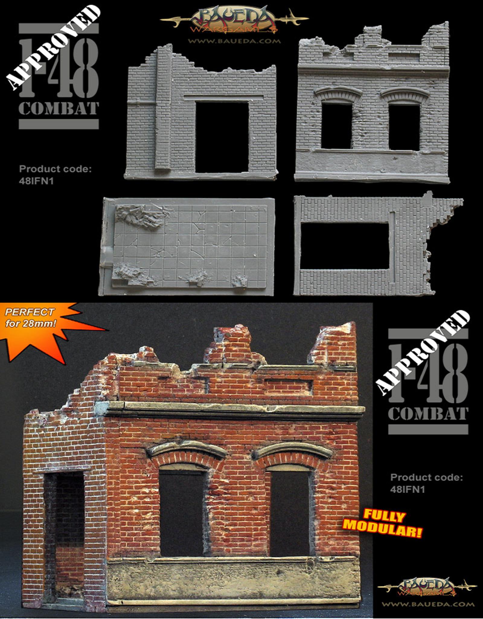 Baueda Ruined factory office block - module 1