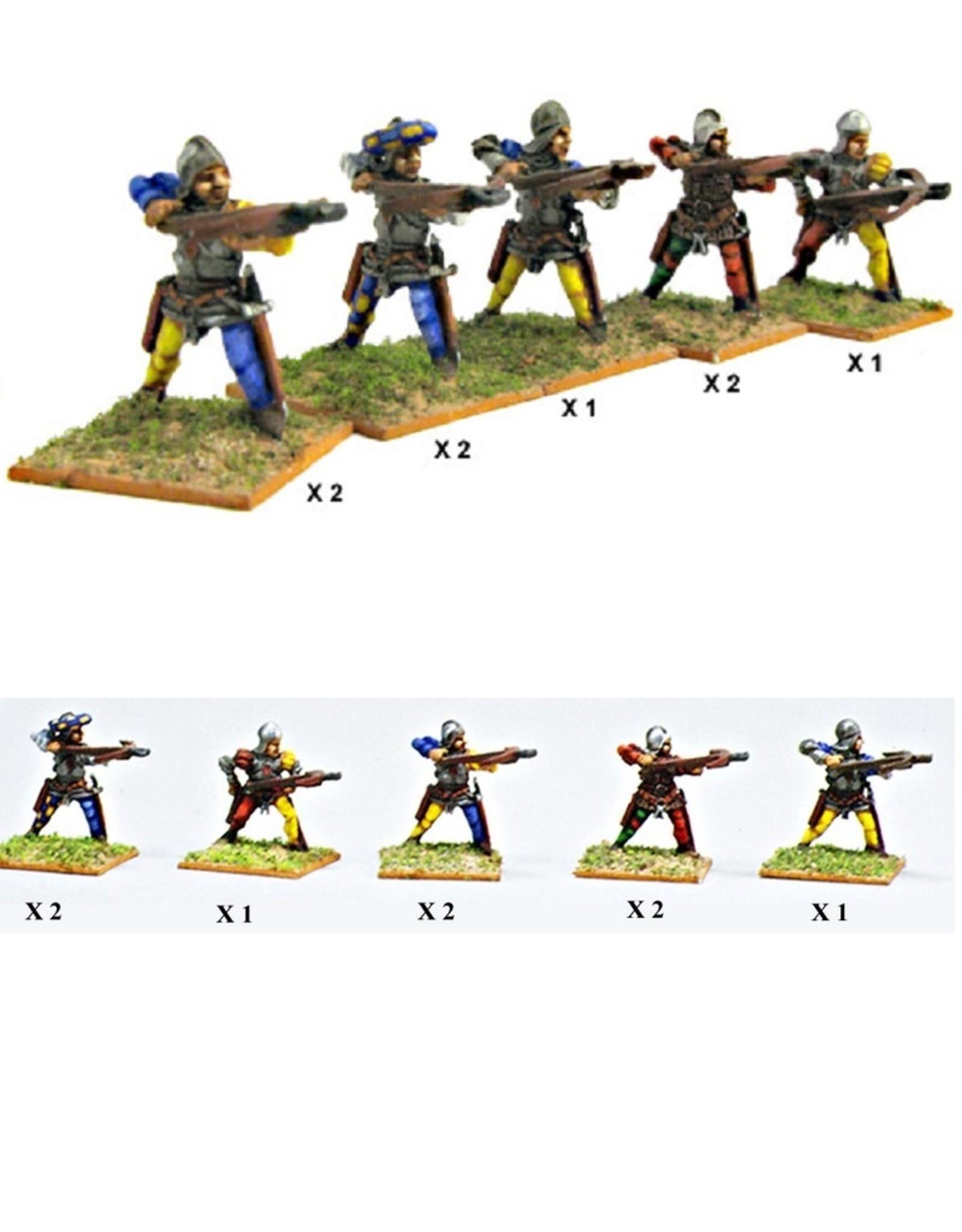 Mirliton S.G. MN-C01 - Italian Crossbowmen