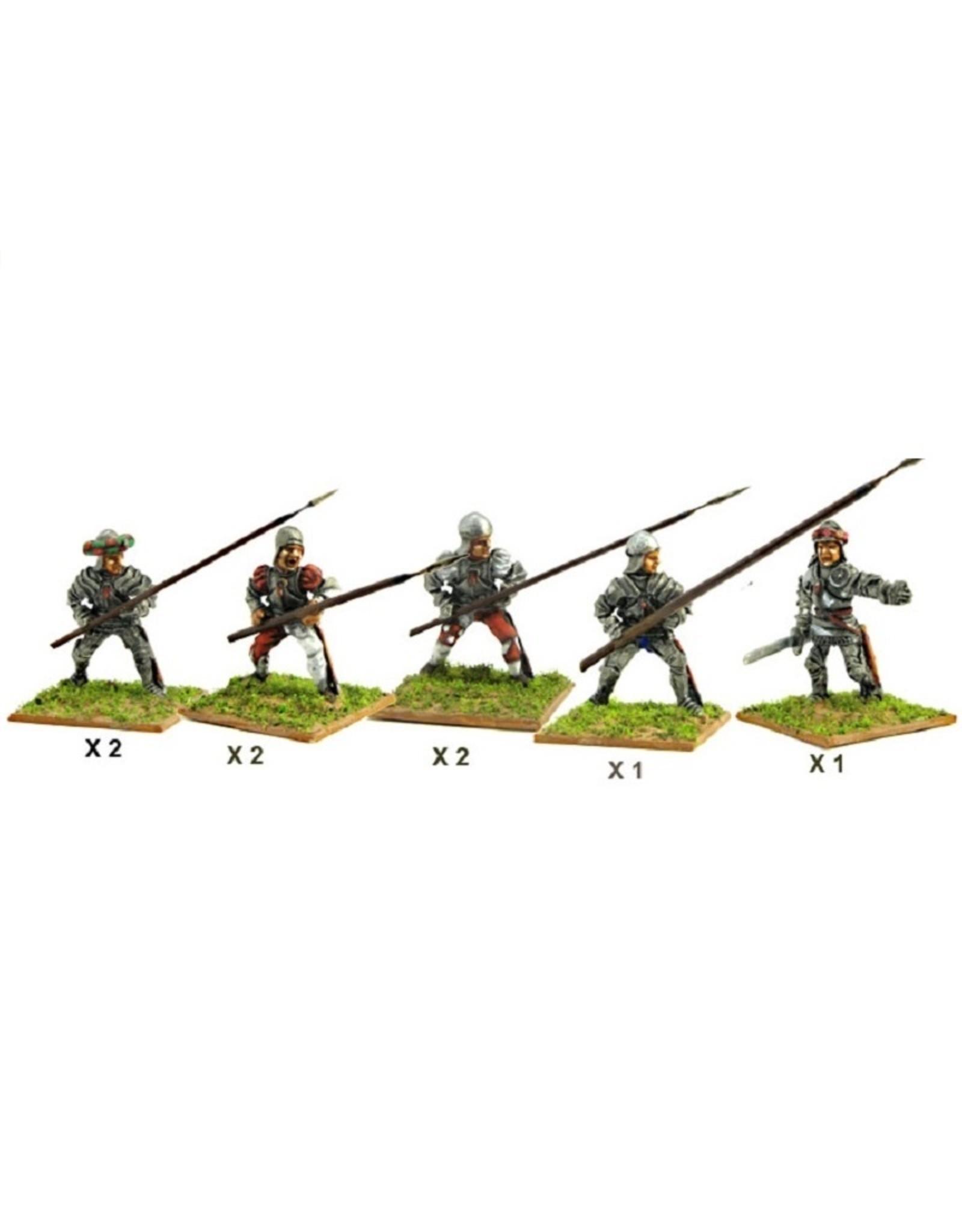 Mirliton S.G. MN-C02 - Italian Pikemen (front rank)