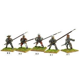 Mirliton C02 - Italian Pikemen (front rank)