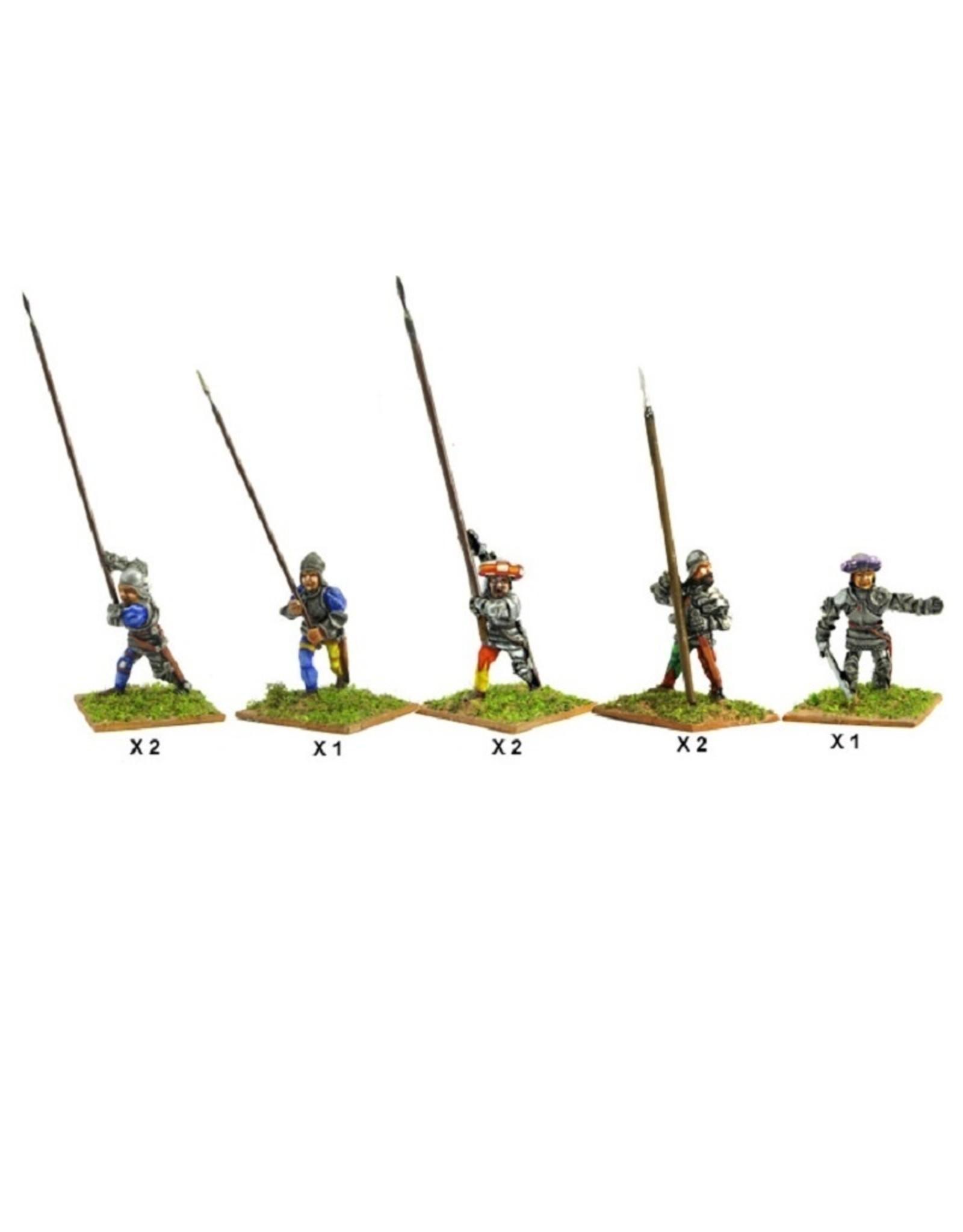 Mirliton C03 - Italian Pikemen (rear rank)