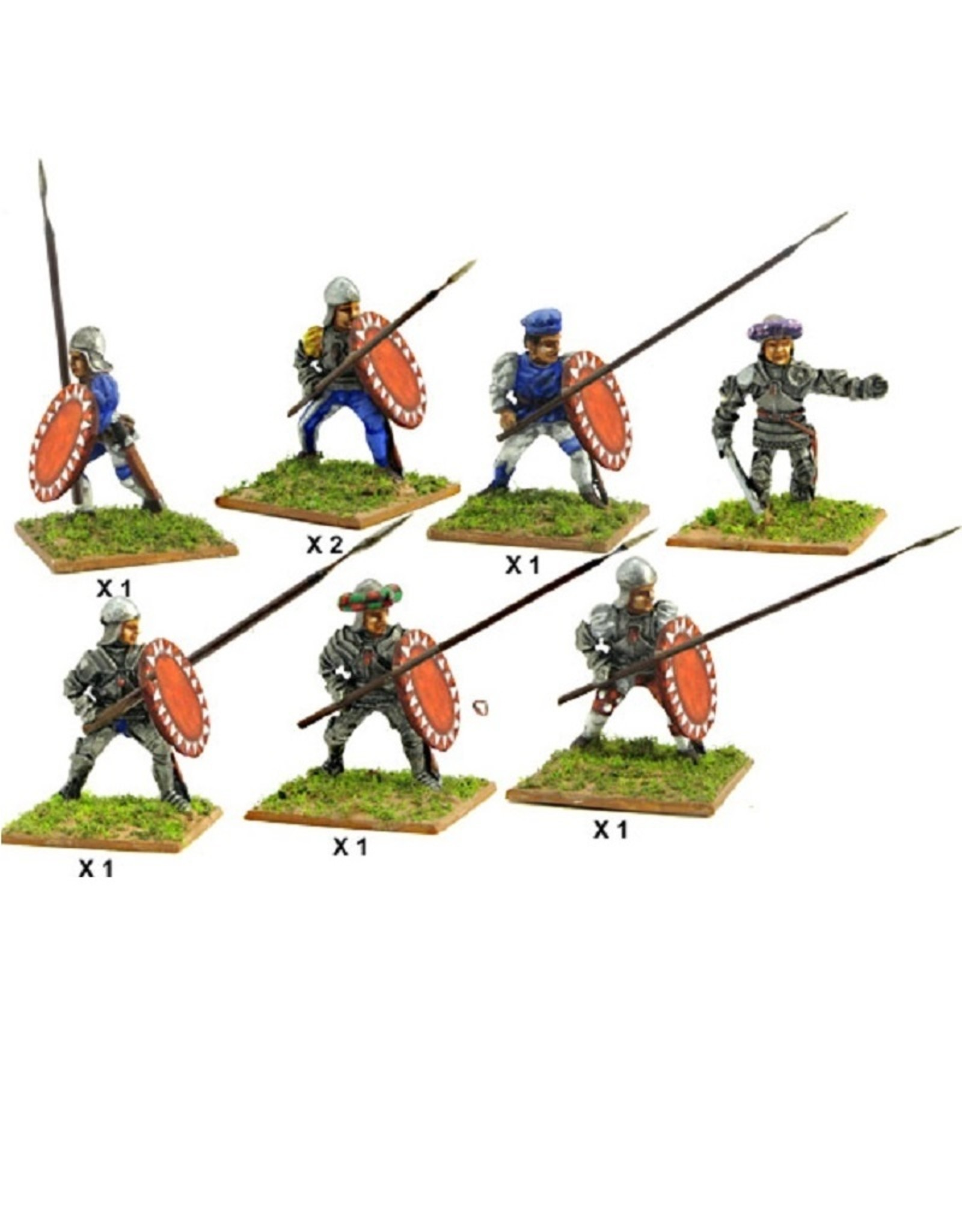 Mirliton C04 - Italian infantry with spear