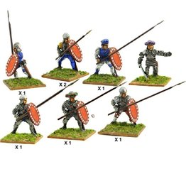 Mirliton S.G. MN-C04 - Italian infantry with spear