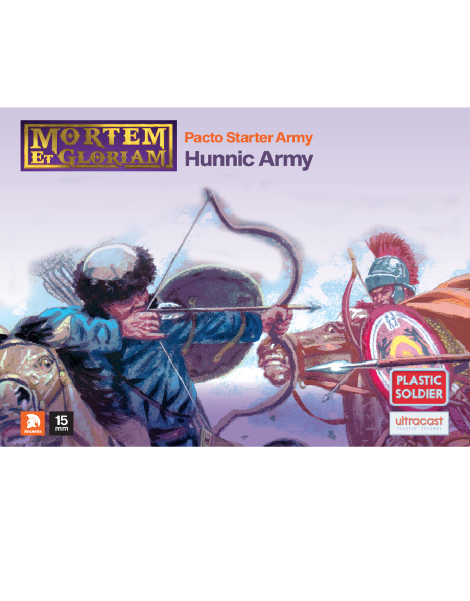 Plastic Soldier Company MeG Pacto Hunnic starter army