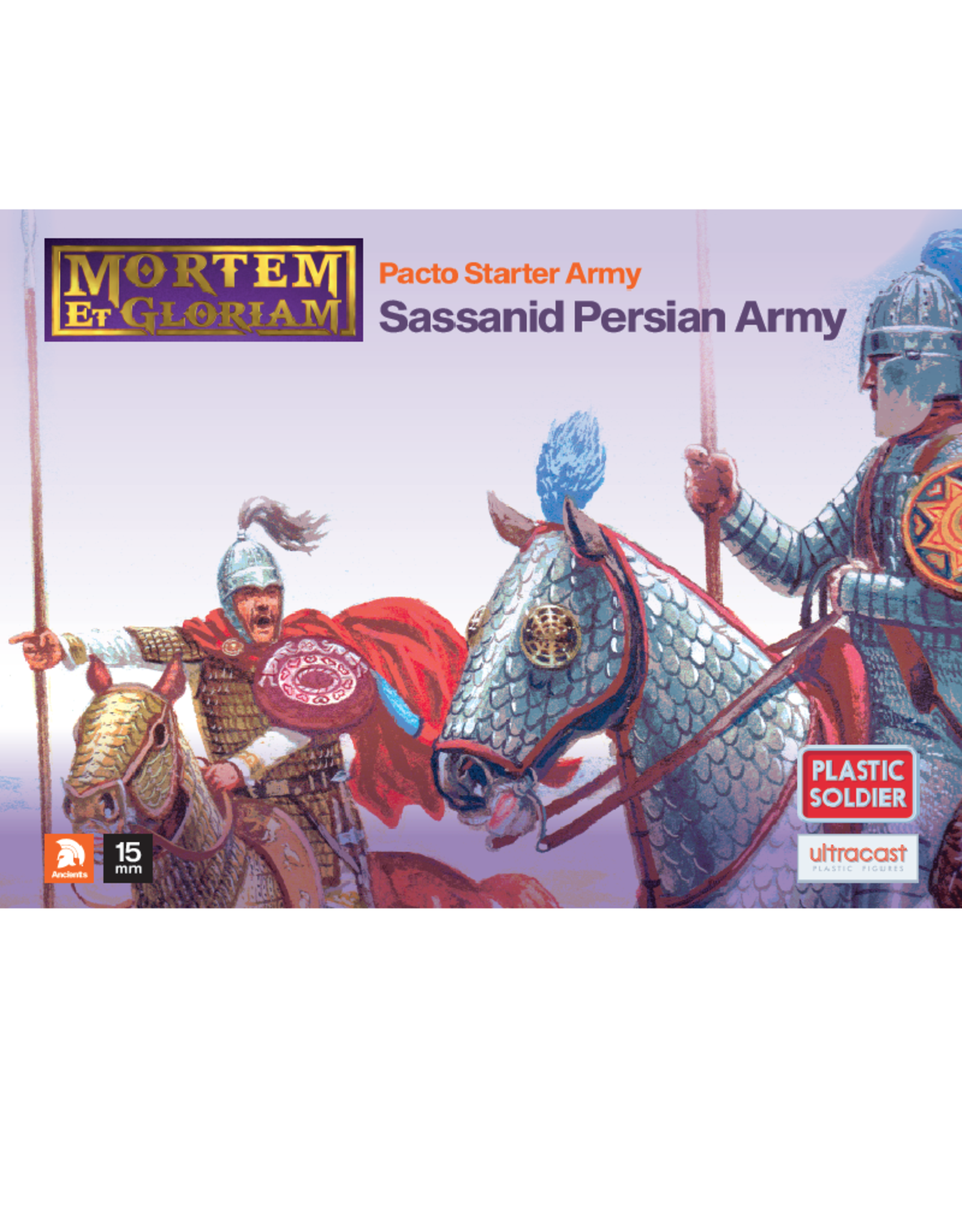 Plastic Soldier Company MeG Pacto Sassanid Persian starter army