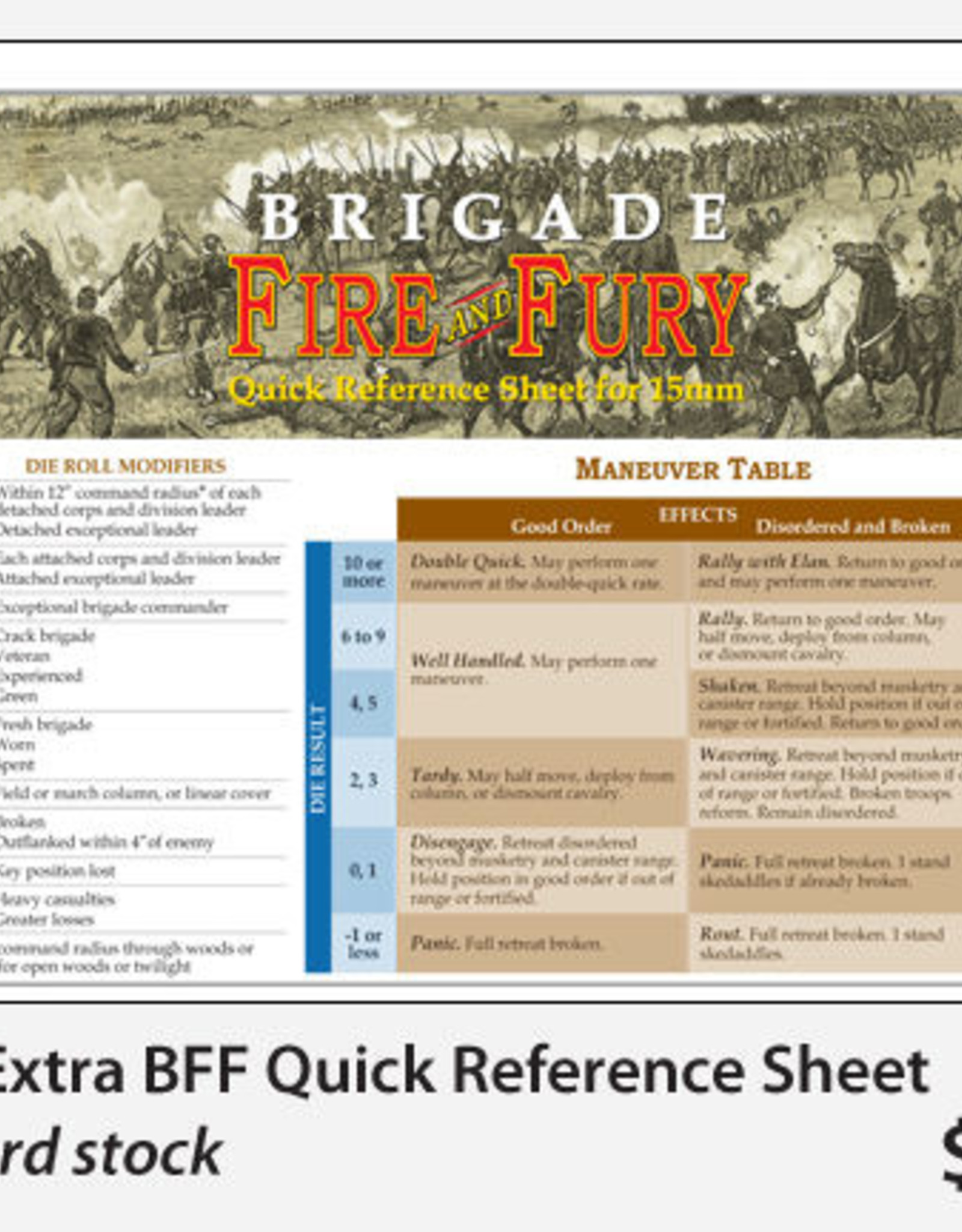 Fire & Fury Games Brigade Fire & Fury (2nd Ed.)