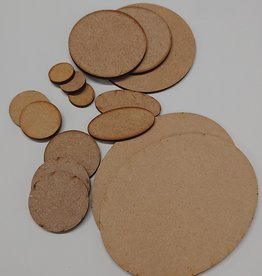 Olympian Games 3mm MDF bases (round)