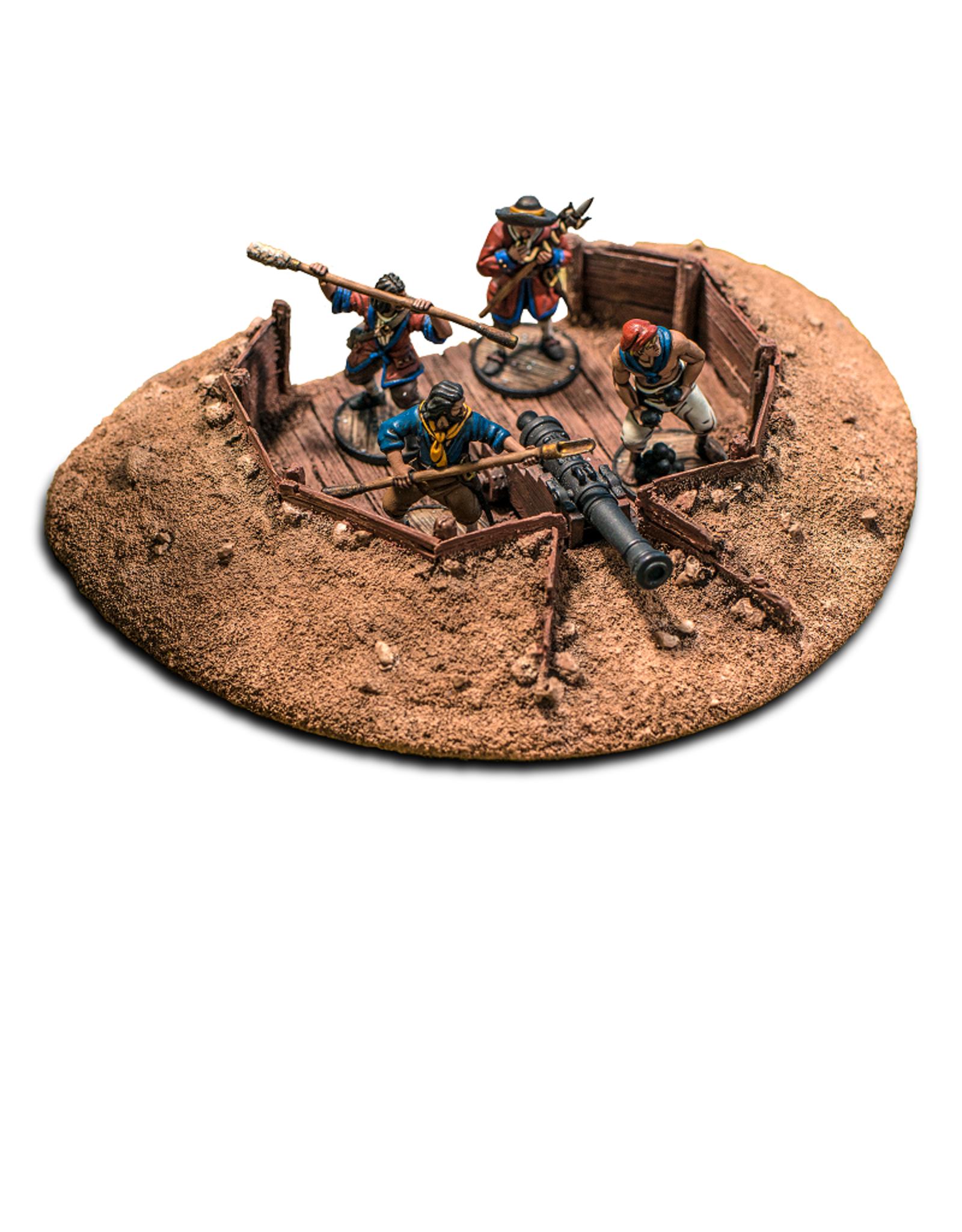 Firelock Games Gun emplacement