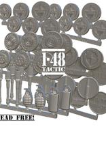 Baueda US metal token set