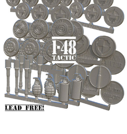 Baueda US metal token set